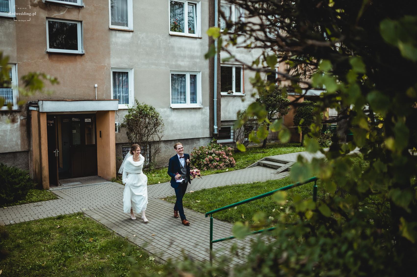 Fotografia ślubna Gdynia redwedding