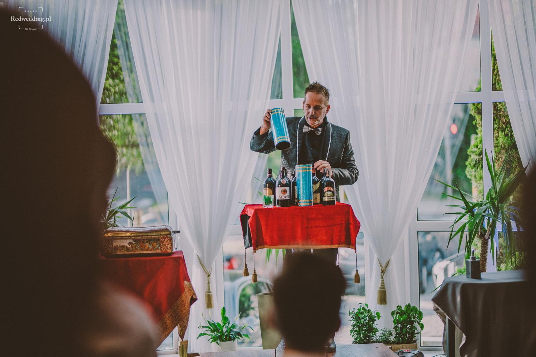 Pokaz magiczny na weselu